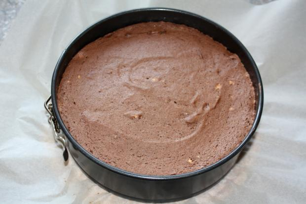 Čokoládovo jahodová torta bez múky - recept postup 3