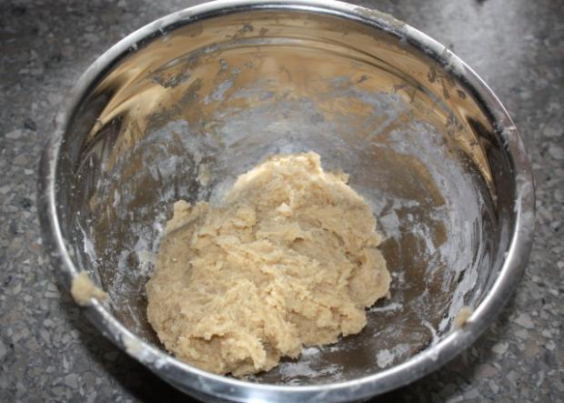 Čučoriedkový koláč - recept postup 3