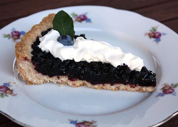 Čučoriedkový koláč - recept