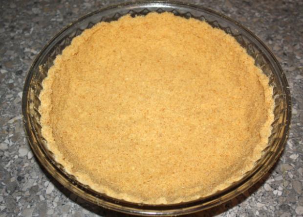 Čučoriedkový cheesecake - recept postup 2