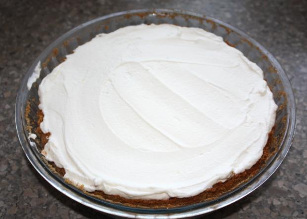 Čučoriedkový cheesecake - recept postup 7