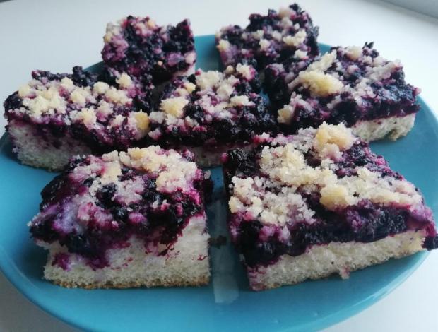 Čučoriedkový koláč - aramana