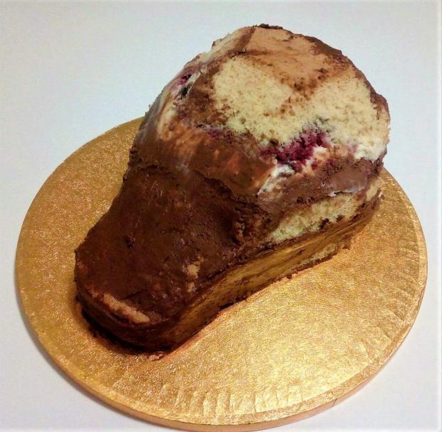 Drak - postup na tortu 3
