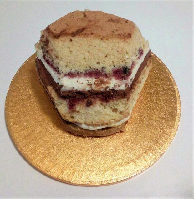 Drak - postup na tortu 2