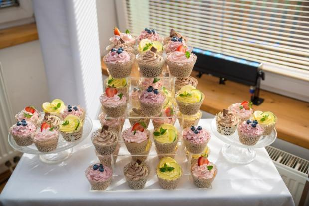 Muffinová torta - recept postup 1