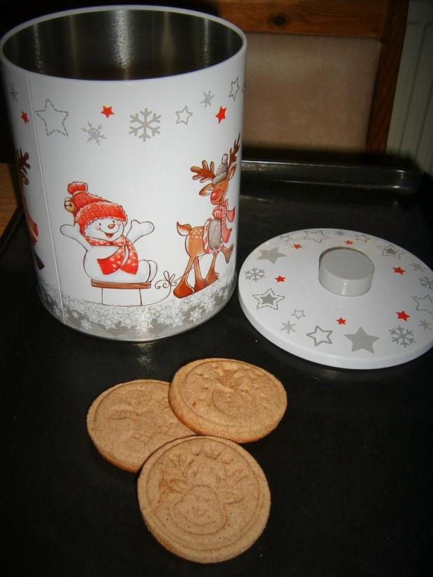 Medovo-škoricové pečiatkové keksy - recept
