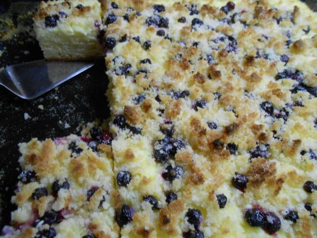 Kysnutý koláč s tvarohovým pudingom - recept postup 1