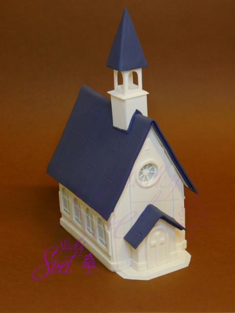 Fotopostup na sladký kostolík, autorka: ela1