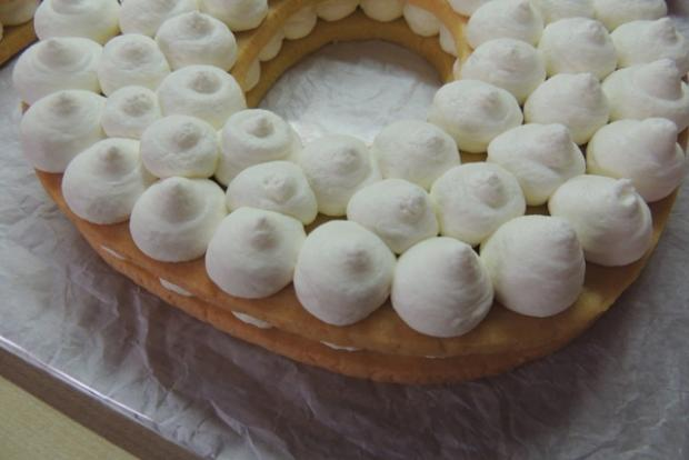 Torta v tvare čísla s fotopostupom - recept postup 9