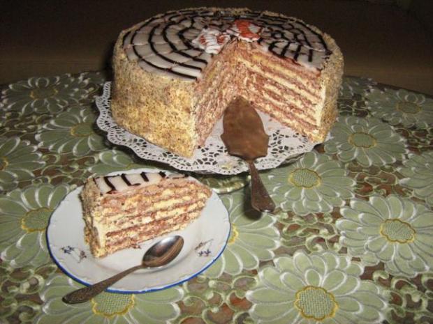 """Torta """"Esterházy"""" + recept. - recept"""