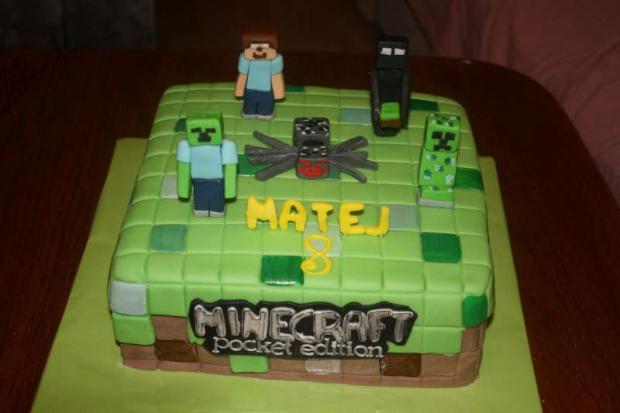 Minecraft torta, Ostané torty pre deti