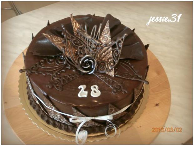 čokoládová torta, čokoládové torty
