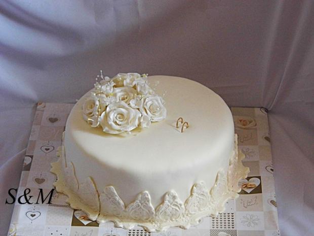 svadobná torta, Svadobné torty, silvia11
