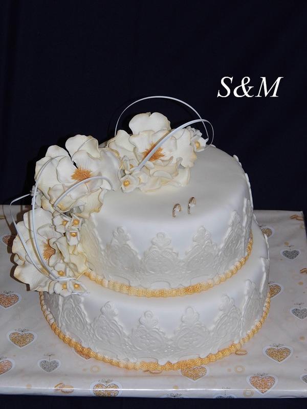 svadobná ... torta, Svadobné torty, silvia11