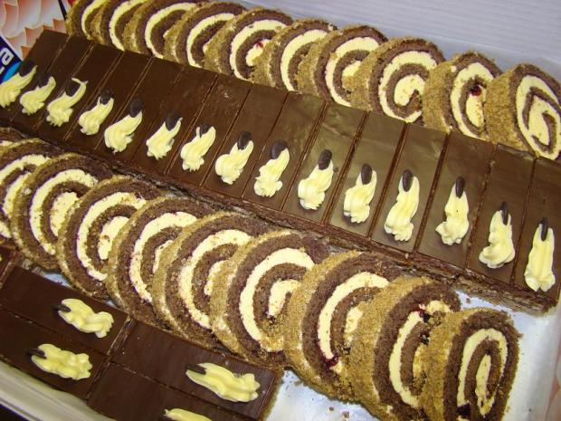 Zákusky na oslavu torta, zákusky