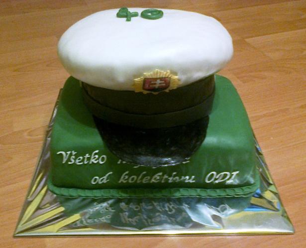 119eea983 Policajná čiapka.. torta, Narodeninové torty, Tortyodmamy.sk