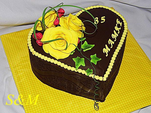 čokoládová ... torta, Čokoládové torty, silvia11