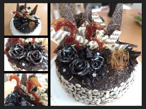 narodeninová čoko-karamel torta, Čokoládové torty