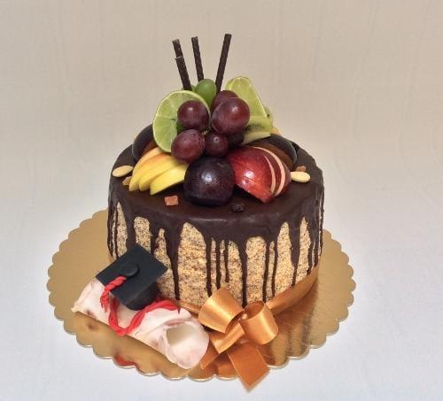 Drip promočná torta, Autor: belen