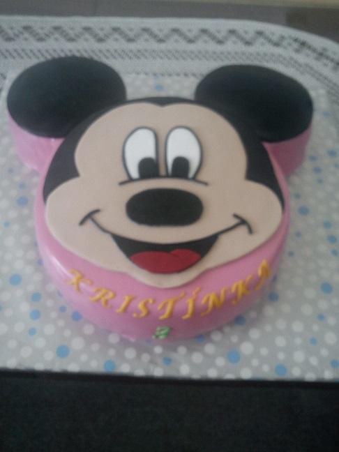 Miki maus torta, Rozprávkové torty, emillka