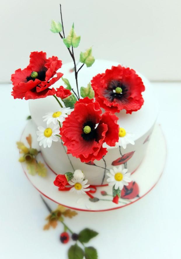 Divé maky, torta, Autor: SWEETarchitect