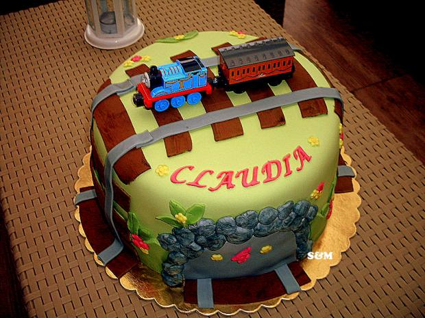 s vláčikom  torta, Torty autíčka, vláčiky, silvia11