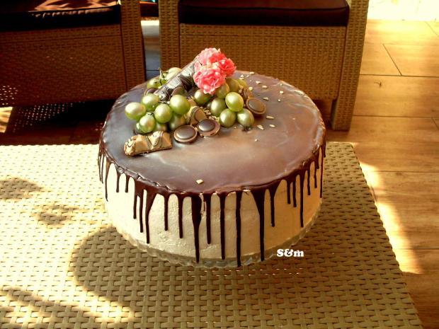 čoko ovocná  torta, Čokoládové torty, silvia11