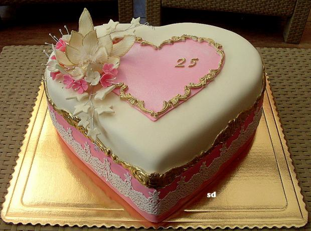 pre slečnu -... torta, Narodeninové torty, silvia11
