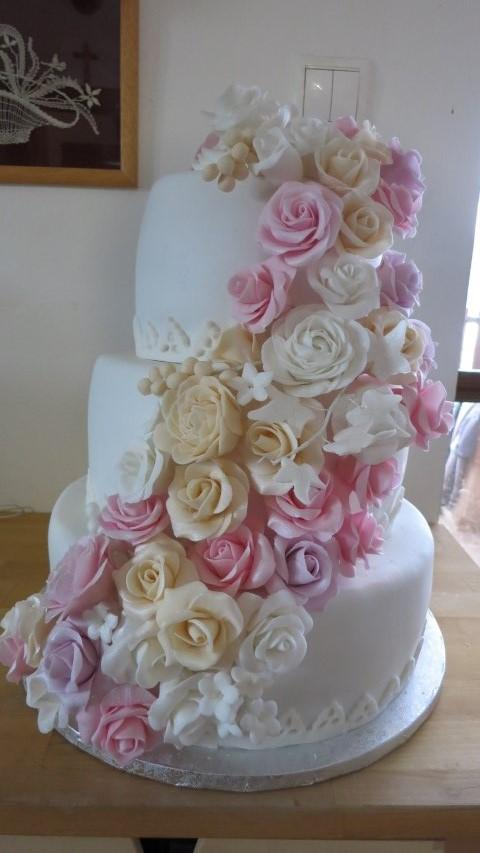 svadobná torta, Svadobné torty, HelkaT