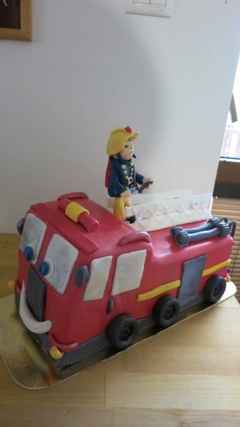 požiarnik Sam torta, Rozprávkové torty, HelkaT