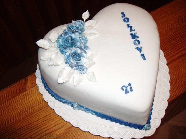 narodeniny  torta, Narodeninové torty, vanilka 227