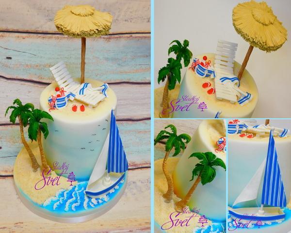 Dovolenková torta, Autor: ela1
