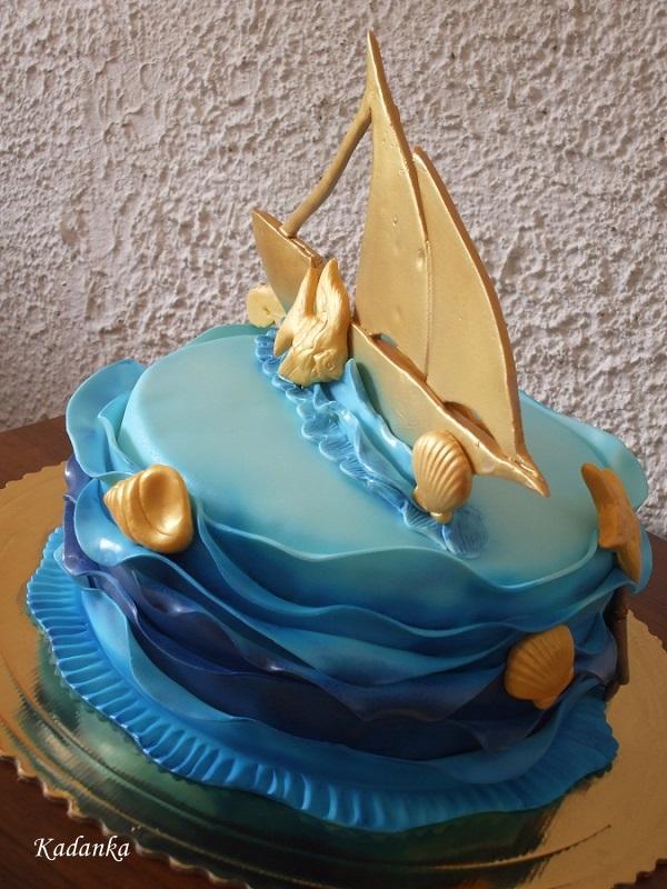 Torta pre malého námorníka, Autor: Kadanka