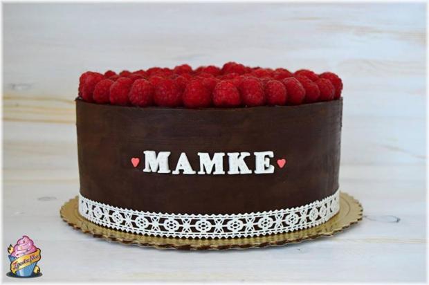 Čokoládové torta pre mamu