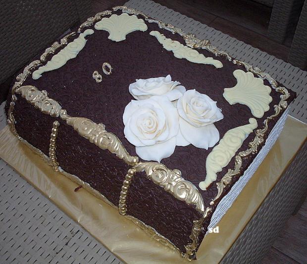 čoko kniha torta, Čokoládové torty, silvia11