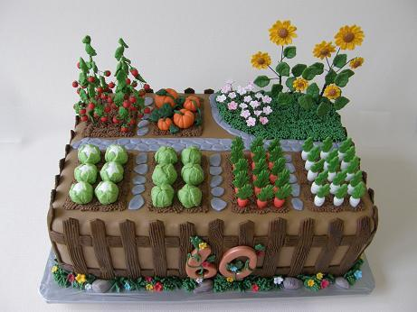 Torta - záhrada, Autor: Annka