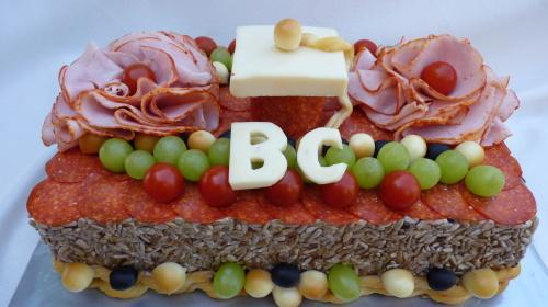 Slaná promočná torta,  Autor: mana1