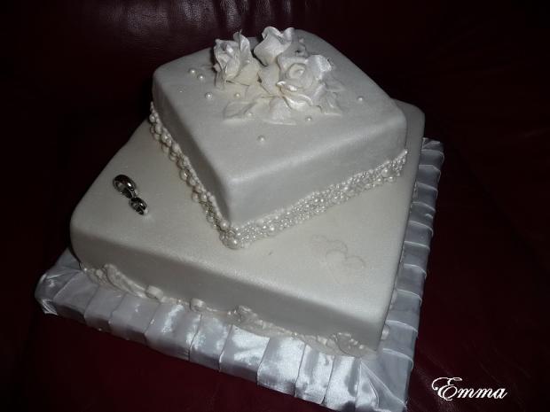 Svadobná torta, Svadobné torty, EmmaV