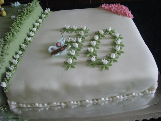 tortička pre babku a vnučku torta, Narodeninové torty, anip 3