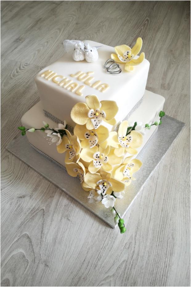 Svadobná  torta, Svadobné torty, dakota14