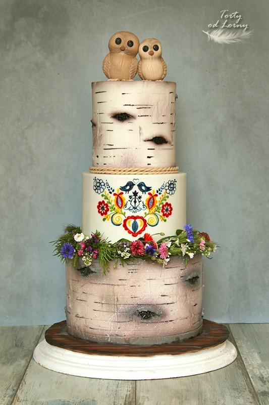 Svadobná vo folklórnom štýle