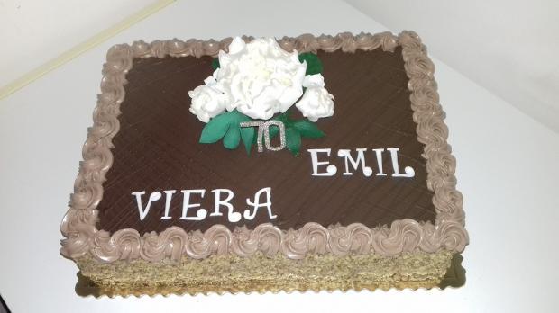 jubileum torta, Čokoládové torty, katka63