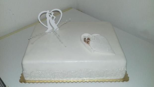na svadbu torta, Svadobné torty, katka63