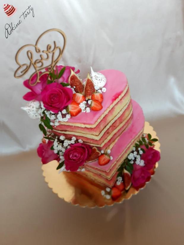 Punčová torta z lásky