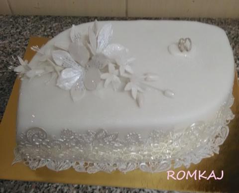 svadobná torta, Svadobné torty, ROMKAJ