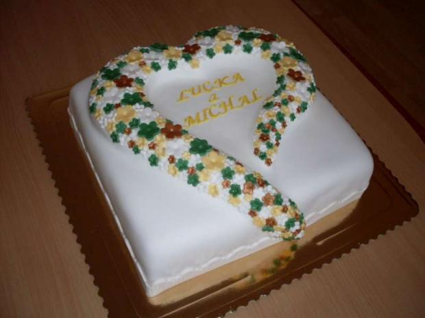 SRDCE torta, Svadobné torty, Mária Vašová
