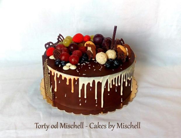 Čokoovocná... torta, Čokoládové torty, Mischell