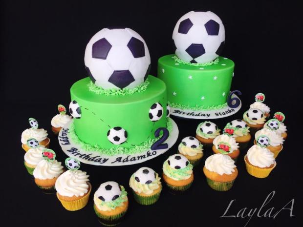 Futbalový setík torta, Športové torty, Andrea Layla Aldiry