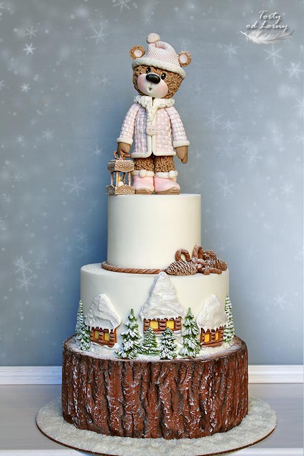 Zimný macík torta, Vianočné torty