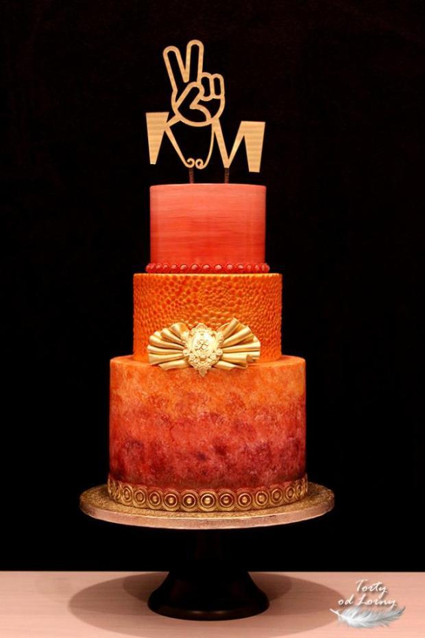 Torta k víťazstvu :-) torta, Narodeninové torty